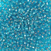 Бисер Preciosa Чехия 10-14гр. 67030 синий с сереб