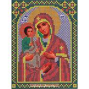 Ткань для вышивания бисером «Русская сказка МК-194 БМ Троеручица» 12*16 см