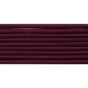 Шнур резиновый 2.5 мм Тур. №179 бордо  рул. 100 м