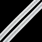 Косая бейка 15 мм стрейч 0511-0071 (уп. 132 м)  белый
