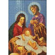 Набор для вышивания бисером Кроше В-189 «Рождество» 19*26 см