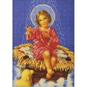 Набор для вышивания бисером Кроше В-190 «Свет звезды» 19*26 см