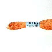 Мулине х/б 8 м Гамма, 0107 оранжевый
