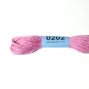 Мулине х/б 8 м Гамма, 0202 розовый