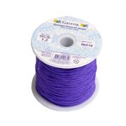 Шнур декор. 1,2 мм Гамма GCS-1.2 нейлон (уп. 50 м) №016 фиолетовый
