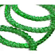 Пайетки 6 мм на нитях 50104 зелёный