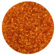 Астра бисер (уп. 20 г) №0029В оранжевый с серебр. центром