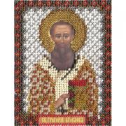 Набор для вышивания бисером Panna ЦМ-1212 «Светитель Григорий Богослов» 8,5*10,5 см