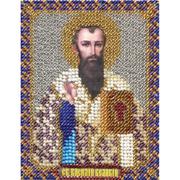 Набор для вышивания бисером Panna ЦМ-1400 «Св. Василий Великий» 8,5*10,5 см