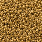 Бисер Preciosa Чехия (уп. 5 г) 18581/М золотистый металлик матовый