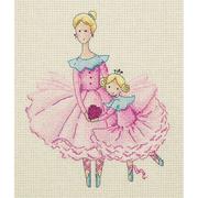 Набор для вышивания Кларт 8-218 «Мама и дочка» 17*19 см