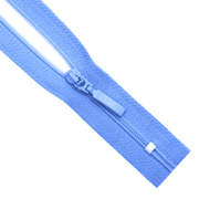 Молния Т5 карман. спираль 18 см SA60P-483  Прибалтика №260 голубой