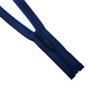 Молния Т5 разъемн. спираль 70 см  SB60M-483  Прибалтика №196 т. синий