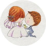 Набор для вышивания Кларт 8-196 «С любовью» 18*15 см