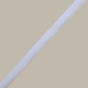 Резинка ажурная 10 мм Блитц DT-11 (уп. 25 м) белый