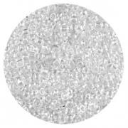 Астра бисер (уп. 20 г) №0101 белый прозрачный