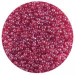 Бисер Астра (уп. 20 г) №0105 т.-красный прозрачный