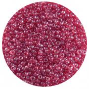 Астра бисер (уп. 20 г) №0105 т.-красный прозрачный