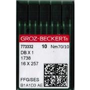 Иглы пром. маш. Groz-Beckert 134/DP5 № 70 (уп. 10 шт.)