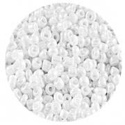 Бисер Астра (уп. 20 г) №0121 белый перламутровый
