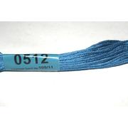 Мулине х/б 8 м Гамма, 0512 св.-синий