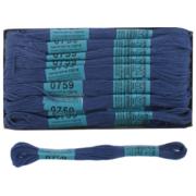 Мулине х/б 8 м Гамма, 0759 ярко-синий