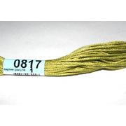 Мулине х/б 8 м Гамма, 0817 св. олива