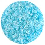 Бисер Астра (уп. 20 г) №0136 голубой с цветным центром