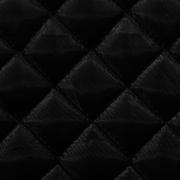 Стеганая ниточная подкладка (квадрат+ватин+спанбонд) черн.