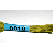 Мулине х/б 8 м Гамма, 0010 оливковый