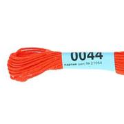Мулине х/б 8 м Гамма, 0044 т.-оранжевый