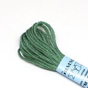 Мулине х/б 8 м Гамма, 0088 зеленый