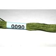 Мулине х/б 8 м Гамма, 0090 св. хаки