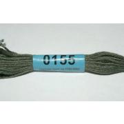 Мулине х/б 8 м Гамма, 0155 т.-серый