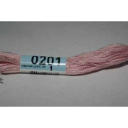 Мулине х/б 8 м Гамма, 0201 св.-розовый