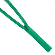 Молния Т3 п/потайные YKK 60 см 876 зеленый
