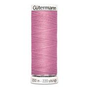 Нитки п/э GUTERMAN №40 200 м 663 розовый*