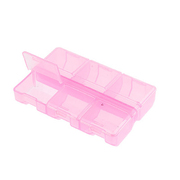 Контейнер Гамма Т-178 пласт. 9*6*1,8 см розовый/прозрачный