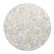 Бисер Астра (уп. 20 г) №0161 белый прозрачный радужный
