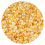 Бисер Астра (уп. 20 г) №0162 золотистый прозрачный радужный