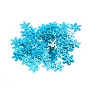 Пайетки «фигурки» Астра снежинки 13 мм (уп. 10 г) 17 бирюзовый