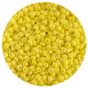 Бисер Астра (уп. 20 г) №0402 желтый радужный