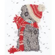 Набор для вышивания Panna MTY-2124 «Зимний Tatty Teddy» 13,5*17 см