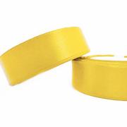 Лента атласная 24 мм (рул. 33 м) №020Г желт.