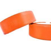 Лента атласная 24 мм (рул. 33 м) №023Г оранж.