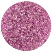 Астра бисер (уп. 20 г) №1105 розовый с серебр. центром