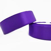 Лента атласная 24 мм (рул. 33 м) №046Г фиолет.