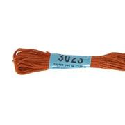 Мулине х/б 8 м Гамма, 3023 рыже-коричневый