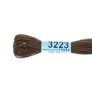 Мулине х/б 8 м Гамма, 3223 коричневый