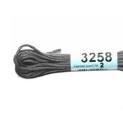 Мулине х/б 8 м Гамма, 3258 серый